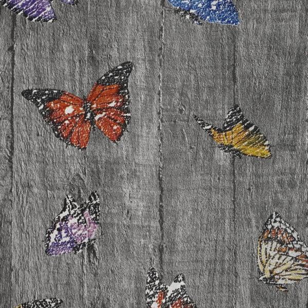 3D Single 2059 Kelebek Desenli Genç Odası Duvar Kağıdı
