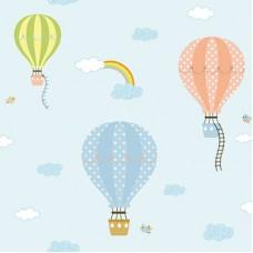 Ada Kids 8901-1 Balon Desenli Çocuk Odası Duvar Kağıdı