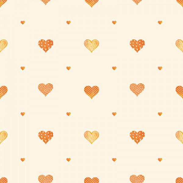 Ada Kids 8905-2 Kalp Desenli Duvar Kağıdı
