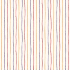 Ada Kids 8906-1 Rengarenk Çizgili Duvar Kağıdı