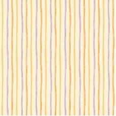 Ada Kids 8906-2 Sarı Lila Çizgili Duvar Kağıdı