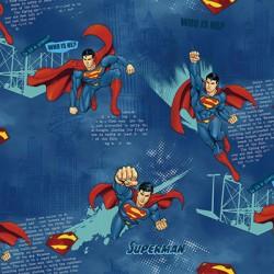 Ada Kids 8914-1 Superman Çocuk Odası Duvar Kağıdı