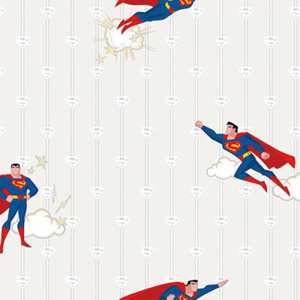 Ada Kids 8915-1 Lisanslı Superman Çocuk Odası Duvar Kağıdı