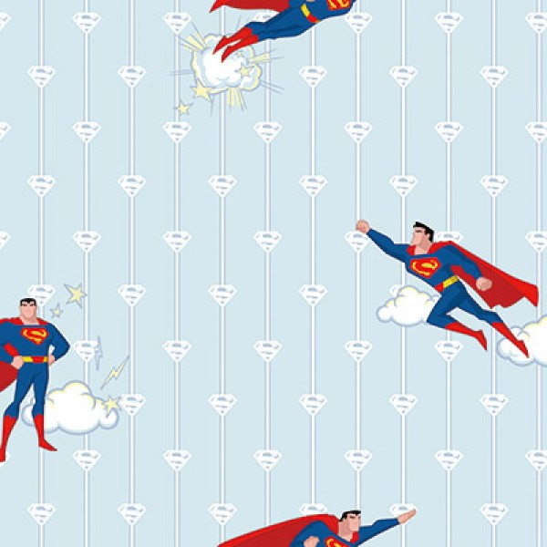 Ada Kids 8915-2 Superman Çocuk Odası Duvar Kağıdı