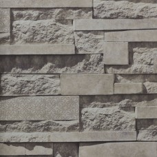 Anka 1601-2 3D Taş Görünümlü Duvar Kağıdı