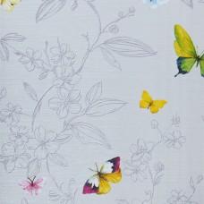 Anka 1606-2 Vinil Kelebek Desenli Duvar Kağıdı