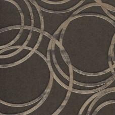 Anka 1614-4 Kahve Halka Desenli Duvar Kağıdı