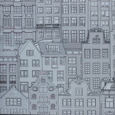 Anka 1618-1 Bina Görünümlü Duvar Kağıdı