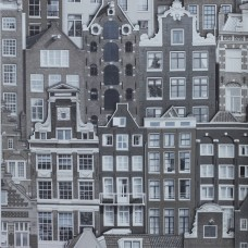 Anka 1618-2 Bina Desenli Duvar Kağıdı