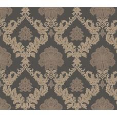 Gordion 2602-4 Damask Desenli Vinil Duvar Kağıdı