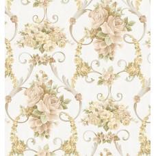 Gordion 2604-1 Klasik Desenli Duvar Kağıdı