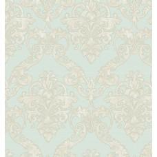 Gordion 2606-2 Damask Desenli Vinil Duvar Kağıdı