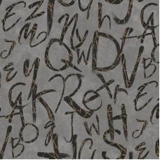 İndigo 4702-4 Karışık Harfli Duvar Kağıdı