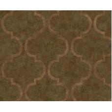 İndigo 4703-5 Kahverengi Modern Duvar Kağıdı