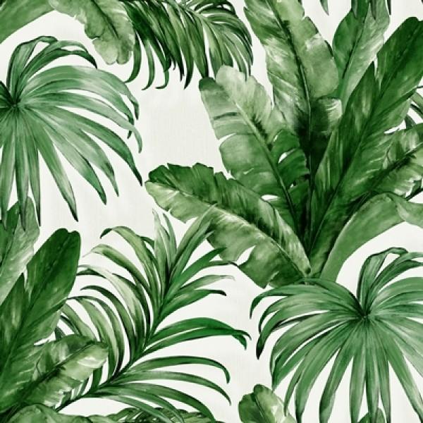İndigo 4714-4 Yeşil Yaprak Desenli Duvar Kağıdı