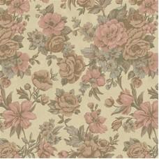 Kalinka 5806-2 Vinil Çiçekli Duvar Kağıdı