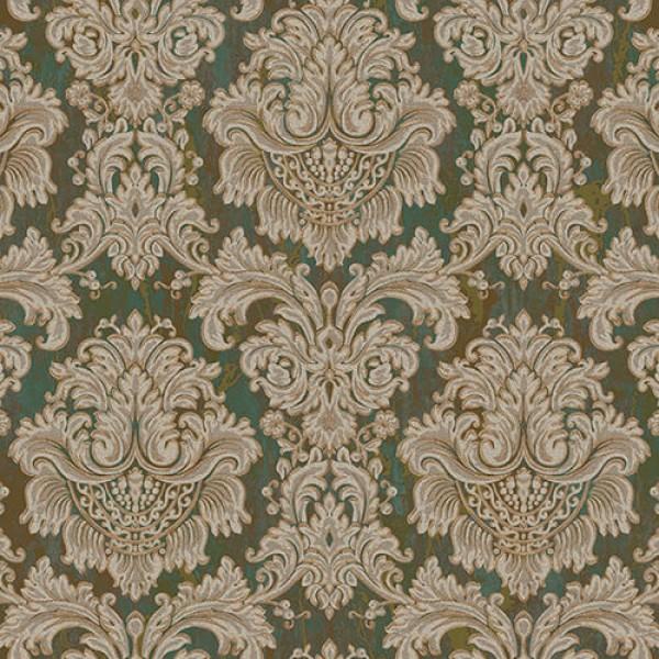 Seven 7807-4 Barok Damask Duvar Kağıdı