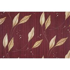 Seela Adoro 7507-6 Bordo Yaprak Desenli Duvar Kağıdı