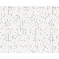Alkor 280-3007 Bambu Desenli Cam Vitray Yapışkanlı Folyo