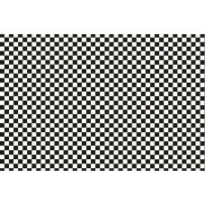 Alkor 380-0106 Siyah Beyaz Kareli İthal Folyo