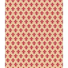 Alkor 380-0049 Kırmızı Damask Yapışkanlı Folyo