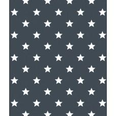 Alkor 380-0114 Füme Yıldız Desen Yapışkanlı Folyo