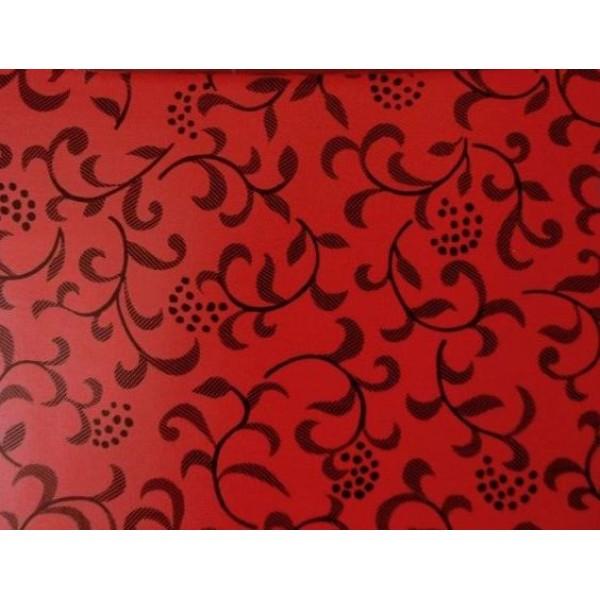 Alkor 280-0032 Kırmızı Çiçekli İthal Folyo