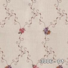 Armani 3006-01 Çiçek Desenli Duvar Kağıdı