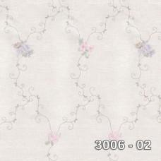 Armani 3006-02 Pastel Çiçek Desenli Duvar Kağıdı