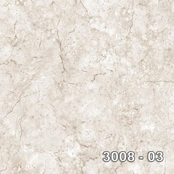 Armani 3008-03 Vinil Mermer Desenli Duvar Kağıdı