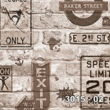 Armani 3015-02 Pop Art Genç Odası Duvar Kağıdı