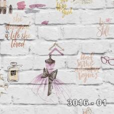 Armani 3016-01 Genç Kız Odası Duvar Kağıdı