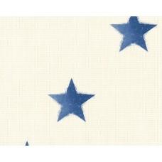 Cote D'azur 35183-3 Mavi Yıldız Desen Çocuk Odası Duvar Kağıdı