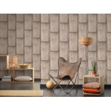 Deco World 2 30749-1 Ahşap Panel Görünümlü Duvar Kağıdı
