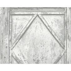 Deco World 2 30752-1 Eskitme Desenli Ahşap Duvar Kağıdı