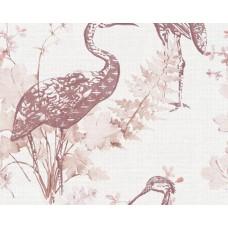 Four Season 36092-4 Flamingo Görünümlü Duvar Kağıdı