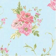Blossom 82021-3 Vinil Çiçek Desenli Duvar Kağıdı