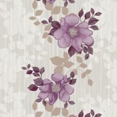 Blossom 85037-4 Mor Çiçekli Duvar Kağıdı