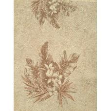Caria 1402 Serpme Çiçek Desenli Duvar Kağıdı
