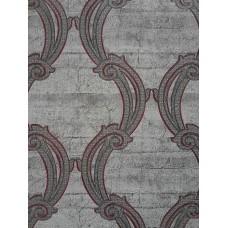 Caria 1421 Modern Damask Desenli Duvar Kağıdı