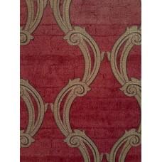 Caria 1423 Pastel Kırmızı Damask Duvar Kağıdı
