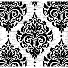 Classic Collection 4500 Yazılı Damask Desenli Duvar Kağıdı