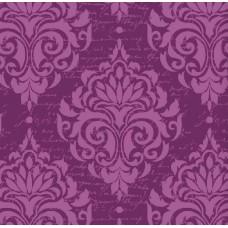 Classic Collection 4502 Mor Damask Desenli Duvar Kağıdı