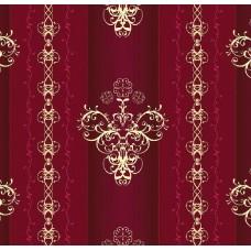 Classic Collection 4553 Bordo Çizgili Duvar Kağıdı