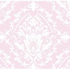 Classic Collection 4602 Pembe Damask Desenli Duvar Kağıdı