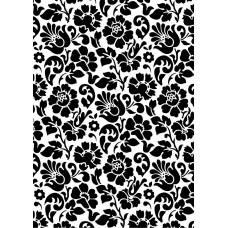 d-c-fix 200-3098 Siyah Çiçek Desen Kendinden Yapışkanlı Folyo