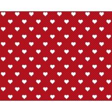 d-c-fix 200-3222 Kırmızı Kalp Desenli İthal Folyo