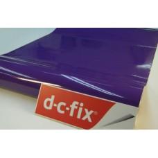 d-c-fix 346-0600 Düz Mor Parlak Yapışkanlı Folyo