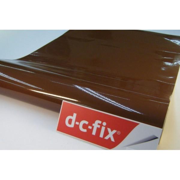 d-c-fix 346-2818 Düz Parlak Kahverengi Kendinden Yapışkanlı Folyo