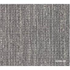 Bossini 2206-01 Füme Kendinden Desenli Duvar Kağıdı